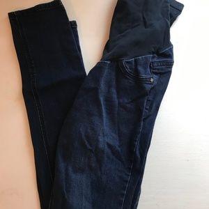 Skinny Dark Wash Maternity Jeans